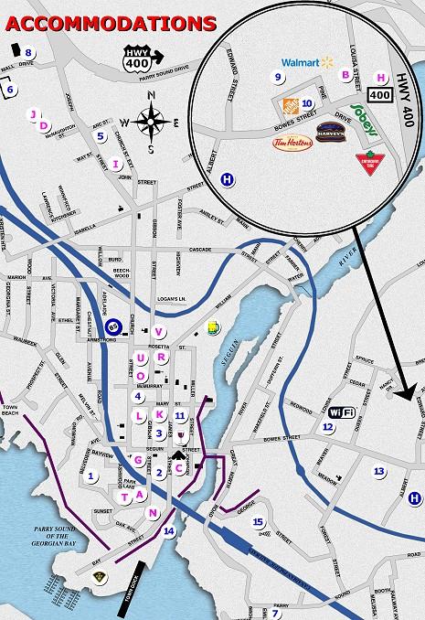 Parry Sound Maps